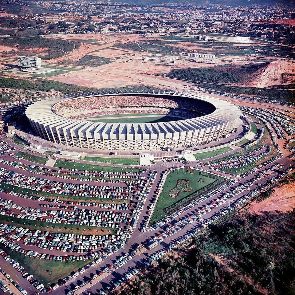 Inauguração do Mineirão, setembro de 1965