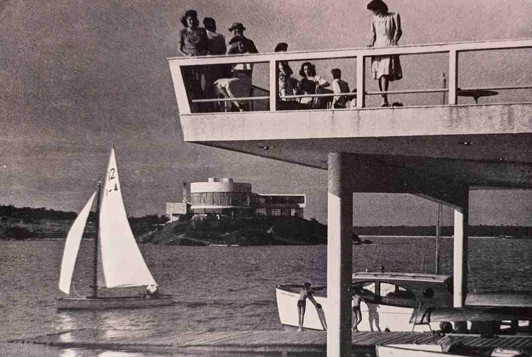 Lagoa da Pampulha, 1953