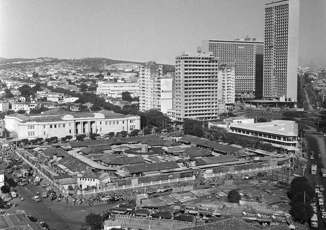Mercado Central, anos 1950