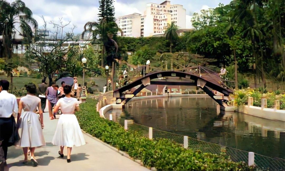 Parque Municipal, 1958