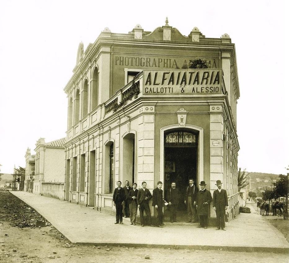 Praça 7, esquina de Rio de Janeiro com Afonso Pena, anos 1920