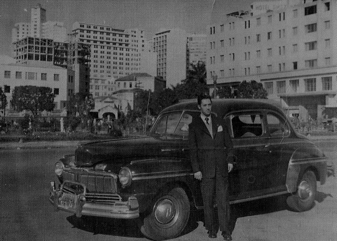 Praça da Estação, 1953