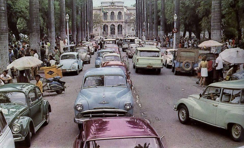 Praça da Liberdade, 1970