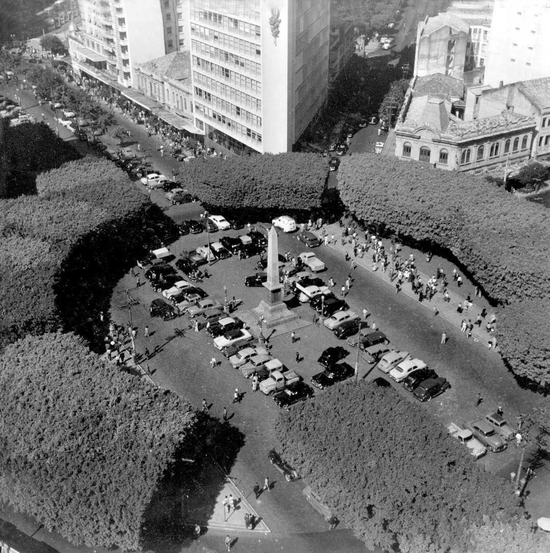 Praça Sete em 1938