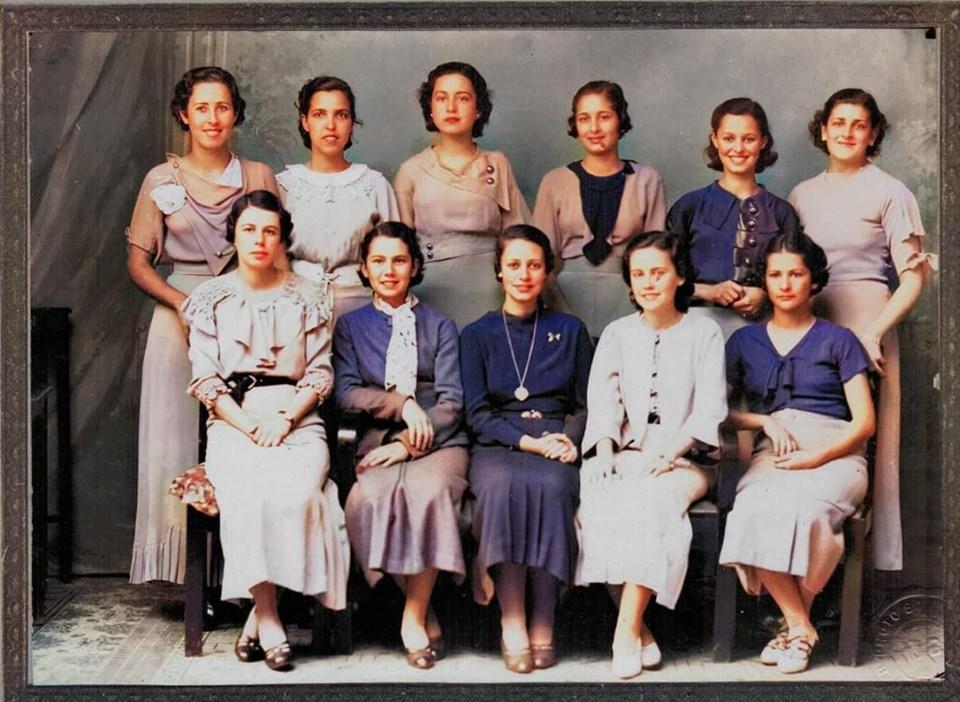 Turma de normalistas do colégio Sacre Couer de Marie, 1933