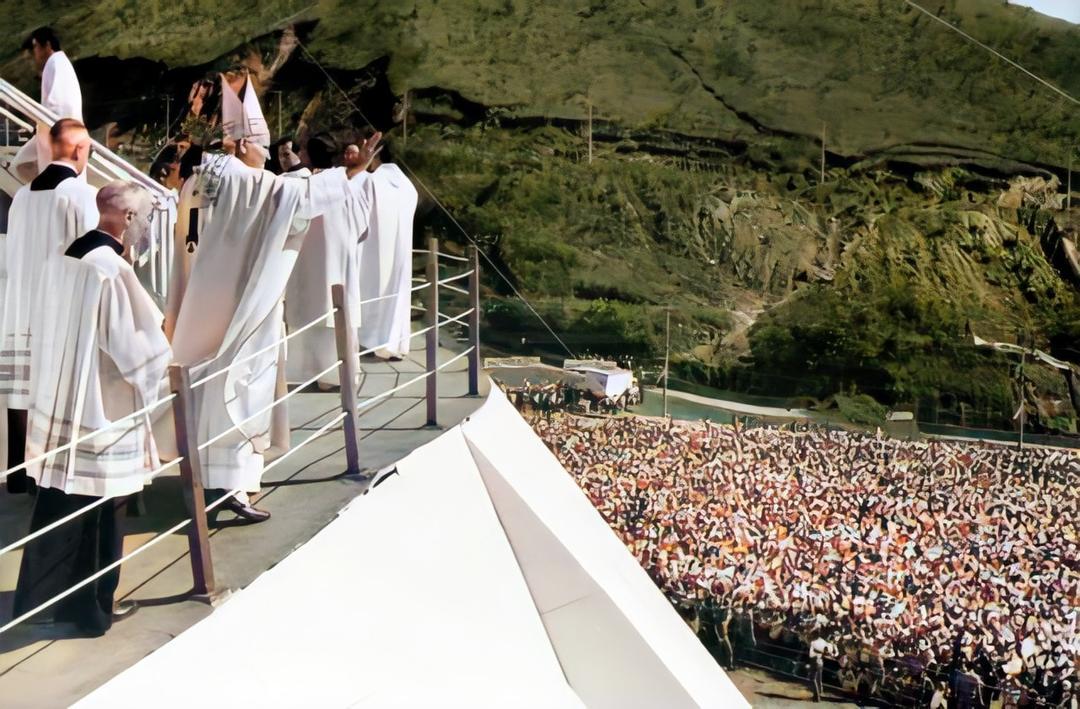 Visita do papa João Paulo II  em 1980