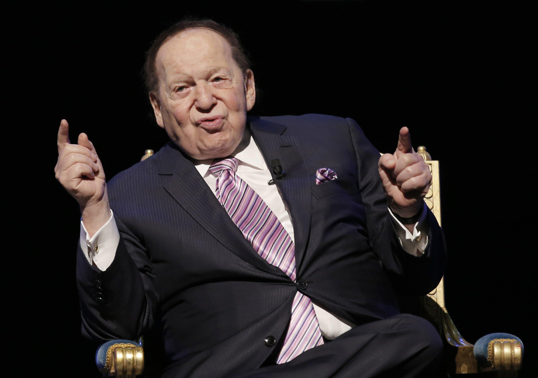 Sheldon Adelson, maior doador da campanha de Trump em 2016 (US$ 20 milhões) e em 2020 (US$ 75 milhões)