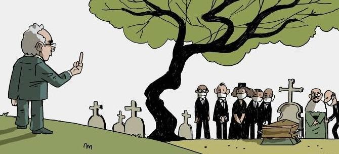Queiroga faz gesto obsceno no dia em que o país chega ao indecente número de 600 mil mortos pela Covid-19