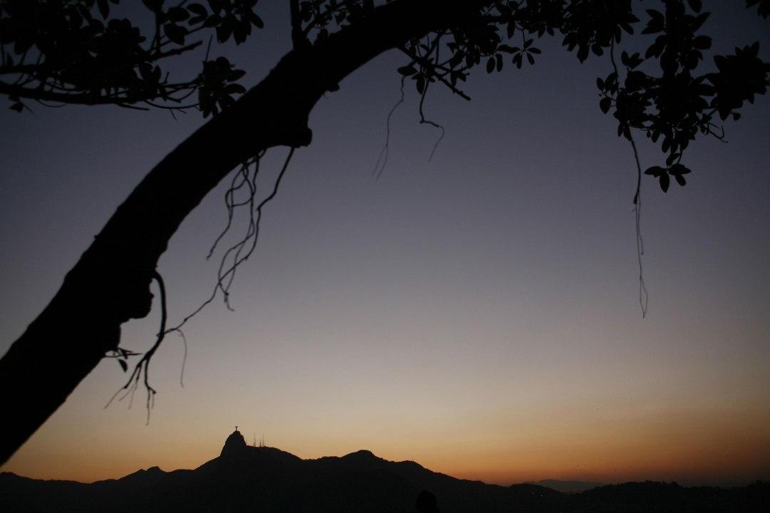 Anoitecer no Rio visto do Pão de Aúcar