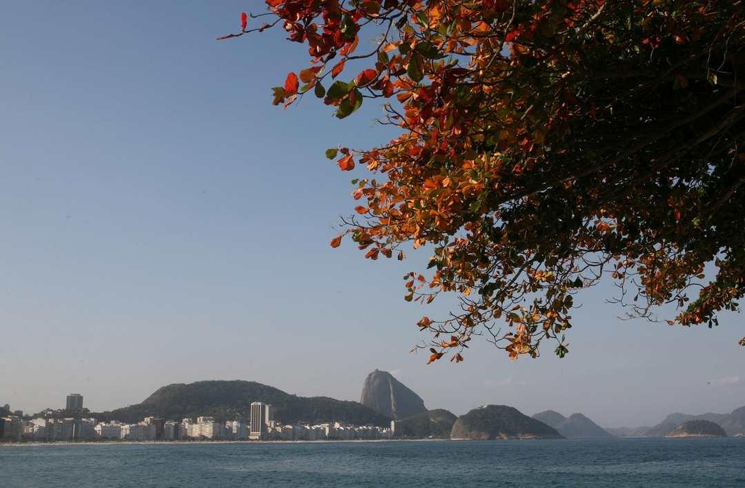 Copacabana fotograda do Forte