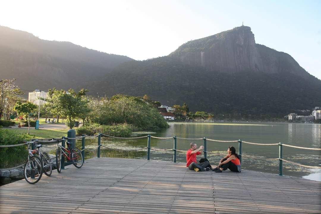 Deck na Lagoa Rodrigo de Freitas