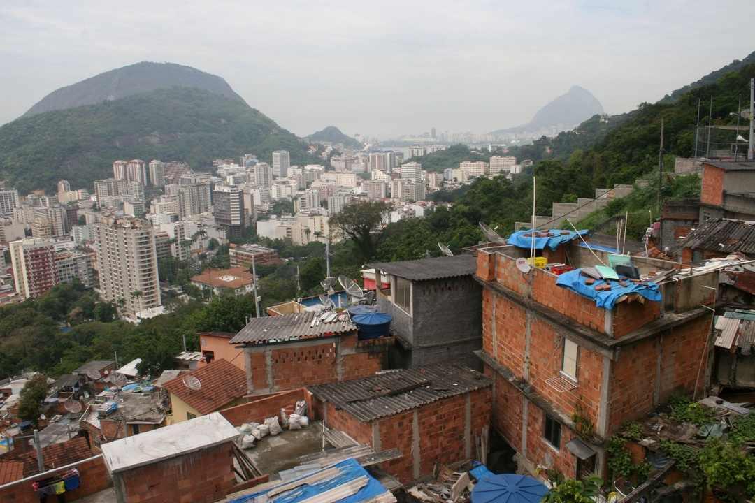 Rio visto do Morro Dona Marta