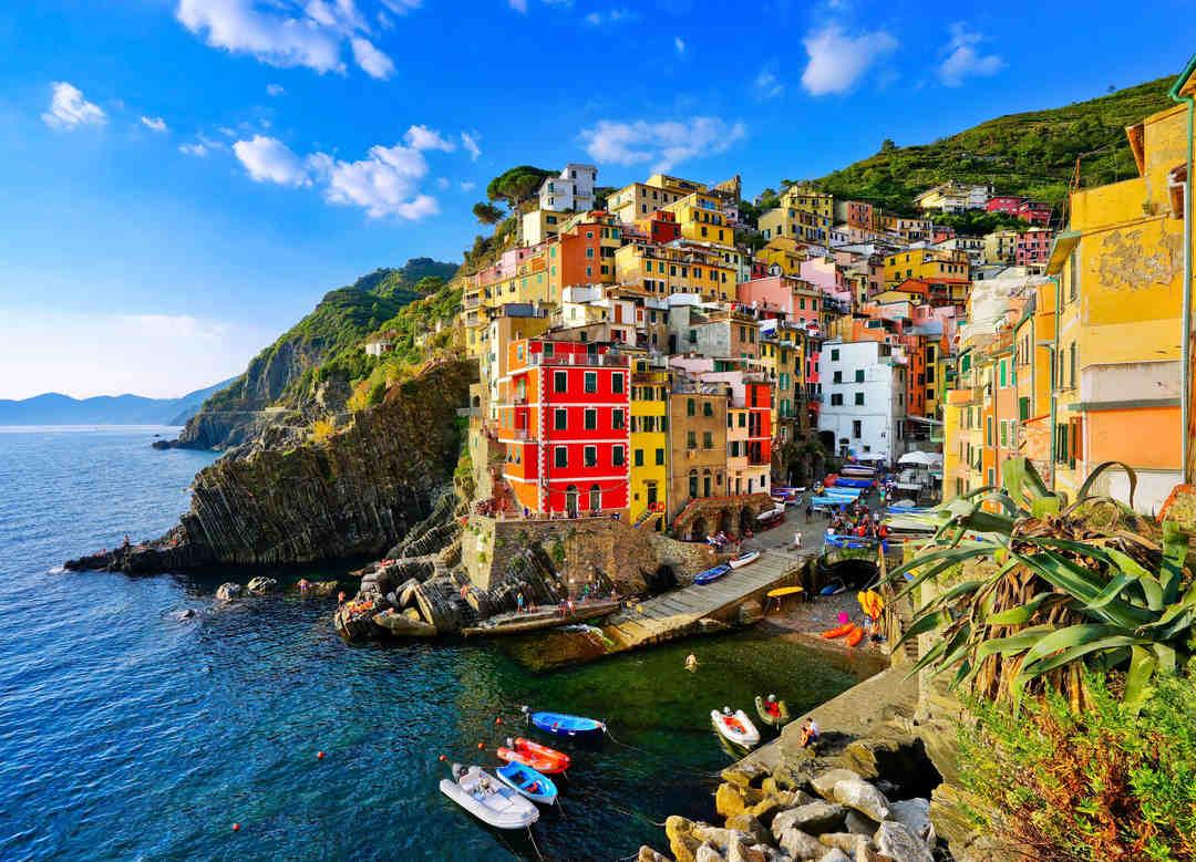 Riomaggiore em Cinque Terre, Itália
