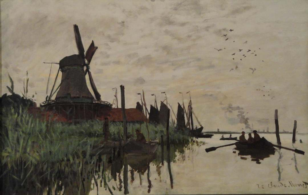 A Windmill Near Zaandam