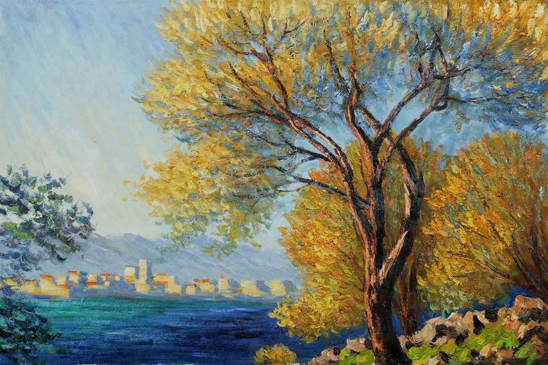 Antibes View of Salis