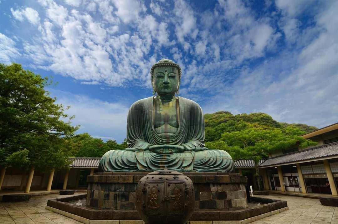 Grande Buda de Kamakura, Japão