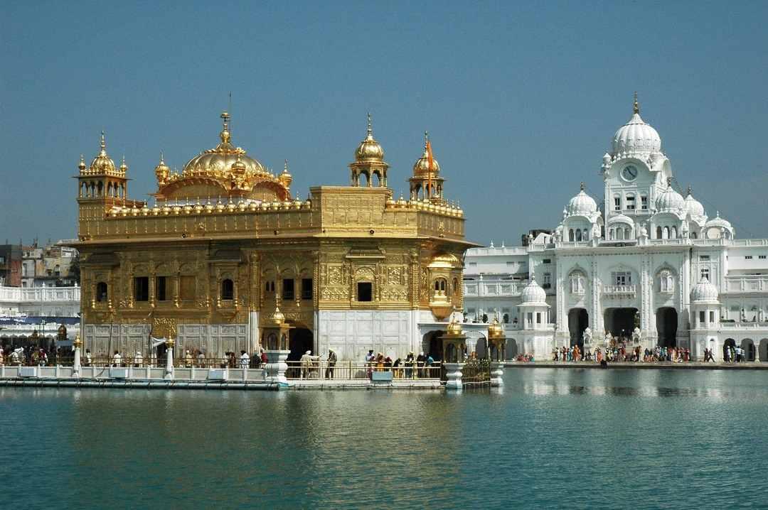 Harmandir Sahib, o templo dourado, Índia