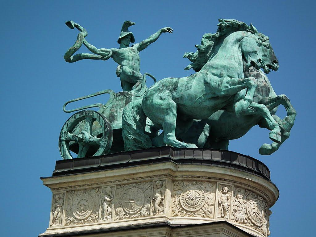 Monumento Millenium, Budapeste