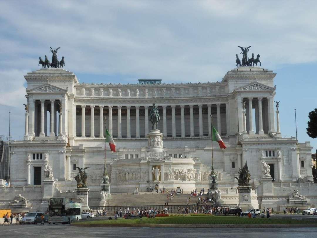 Altar dos Pais da Pátria, Roma, Itália