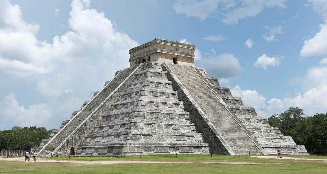 O Castelo de Chichen Itza, México