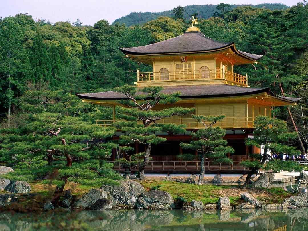 Pavilhão de Ouro, Quioto, Japão