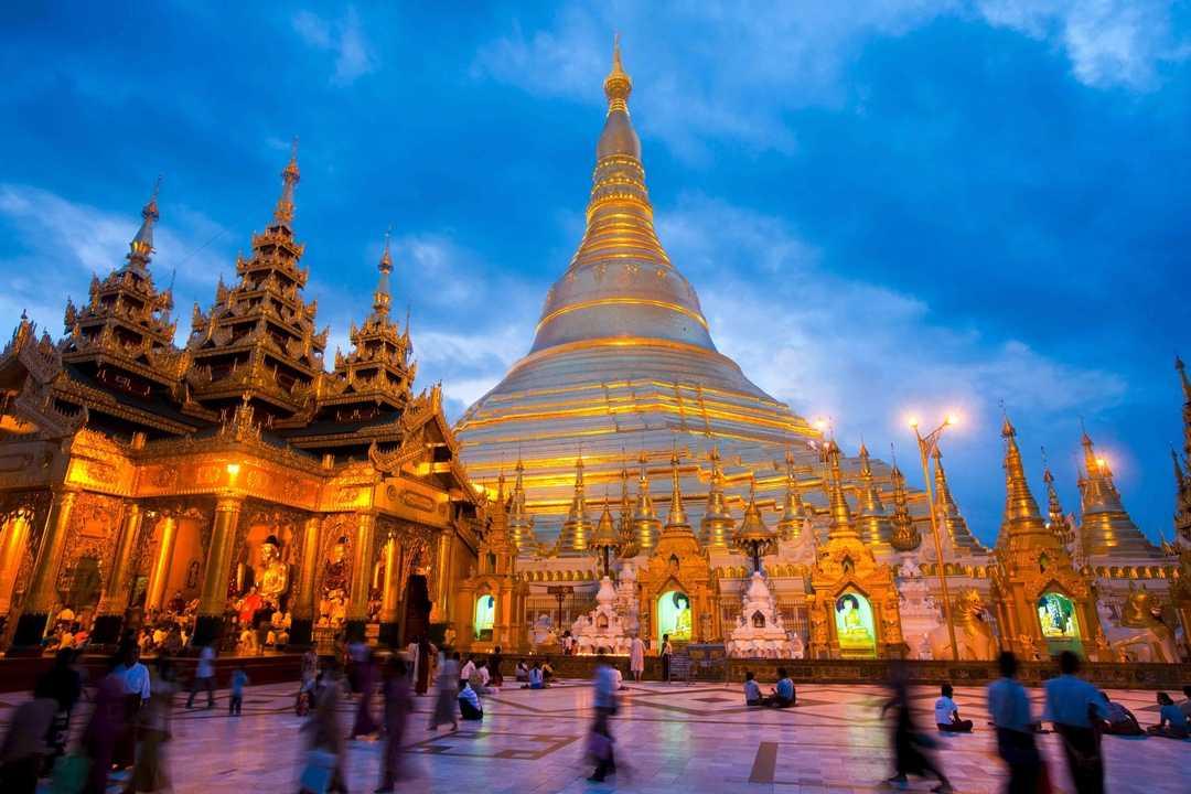 Pagode Shwedagon, Myanmar