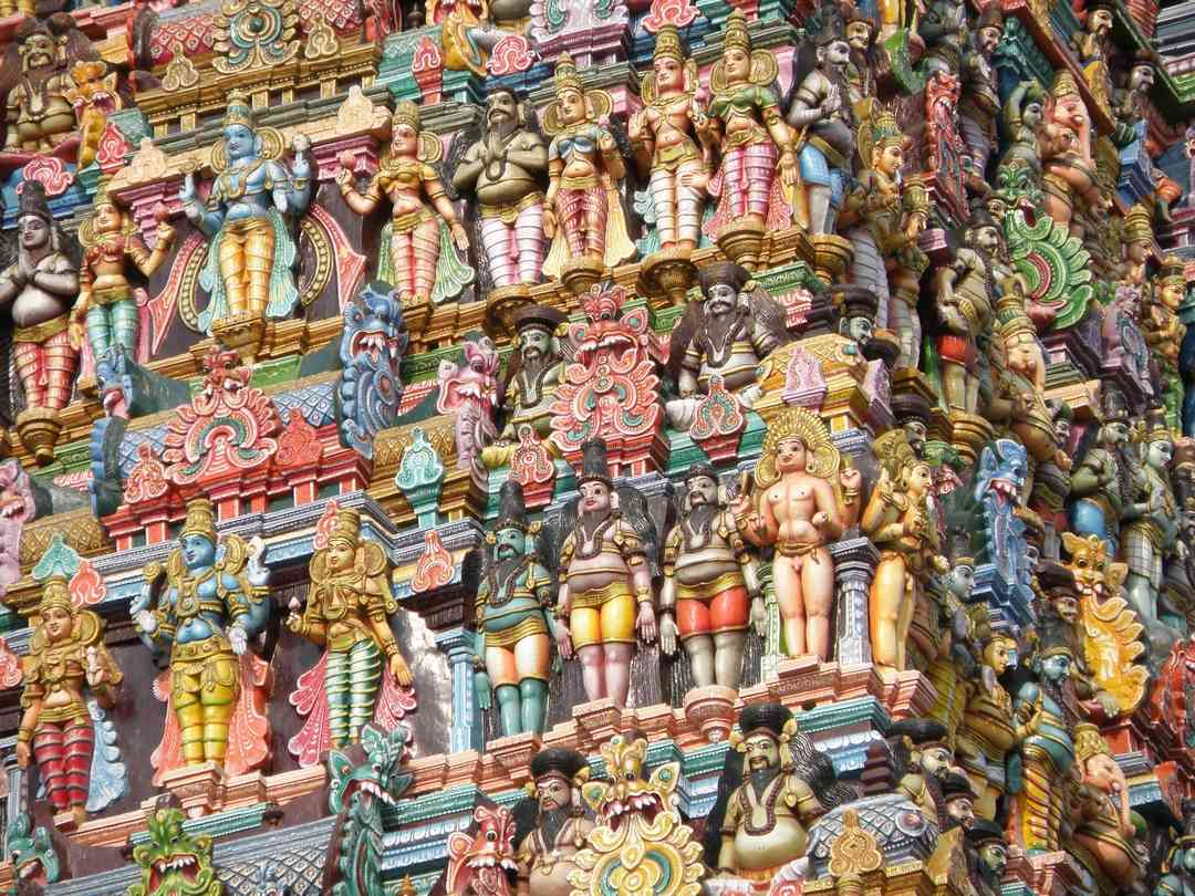 Templo Meenakshi, Índia