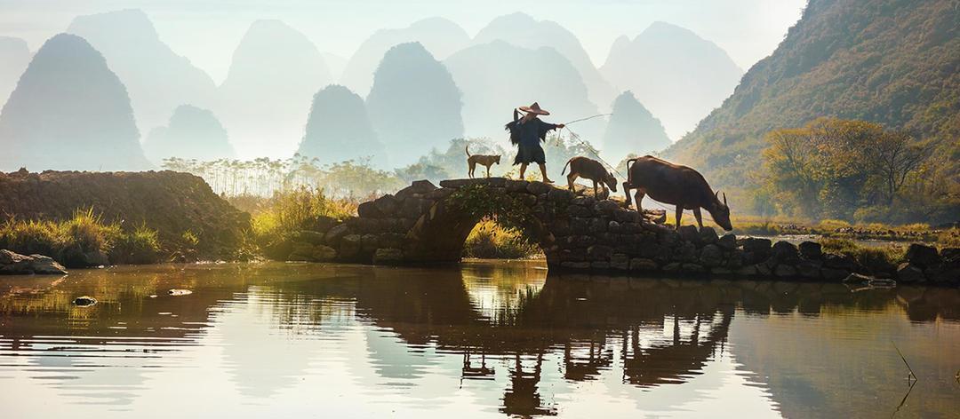 As belezas naturais da China