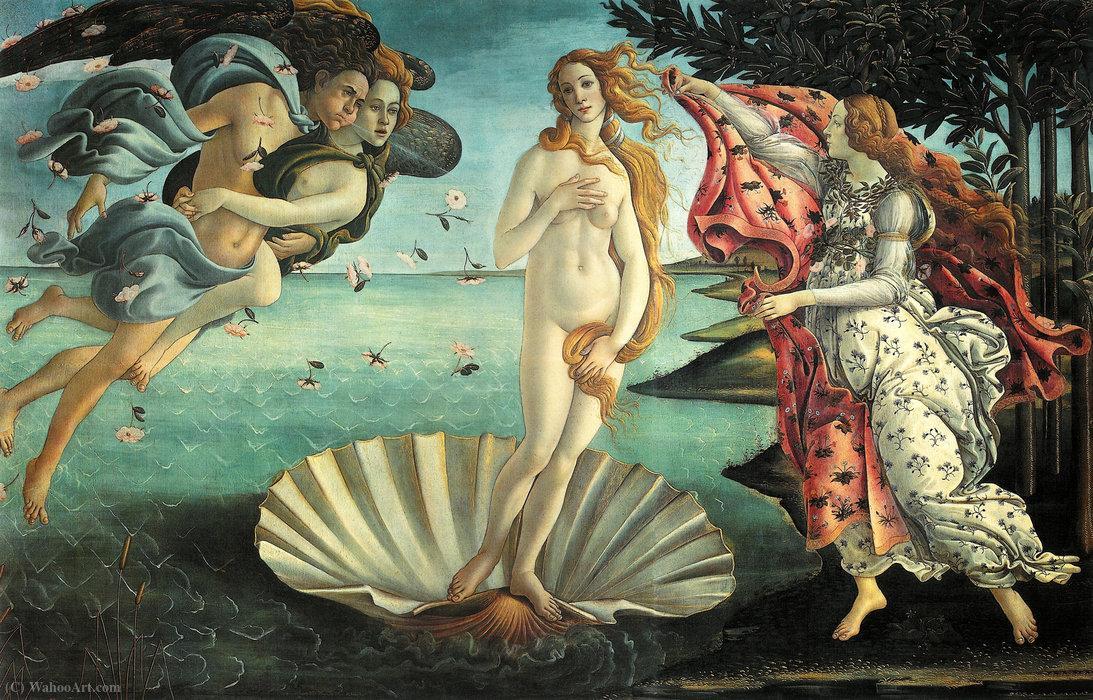 'O Nascimento de Vênus': a arte tem grande força psicológica sobre os seres humanos.