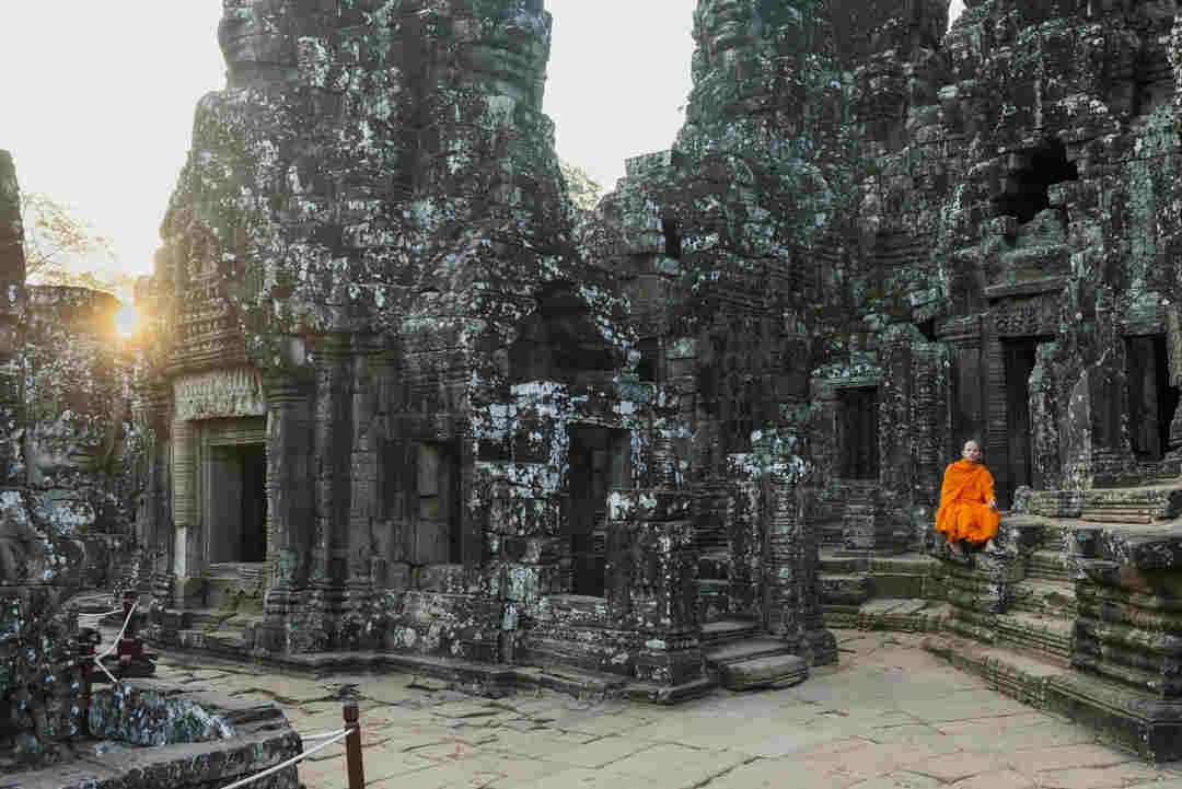 Mosteiro Siem Reap (Camboja)