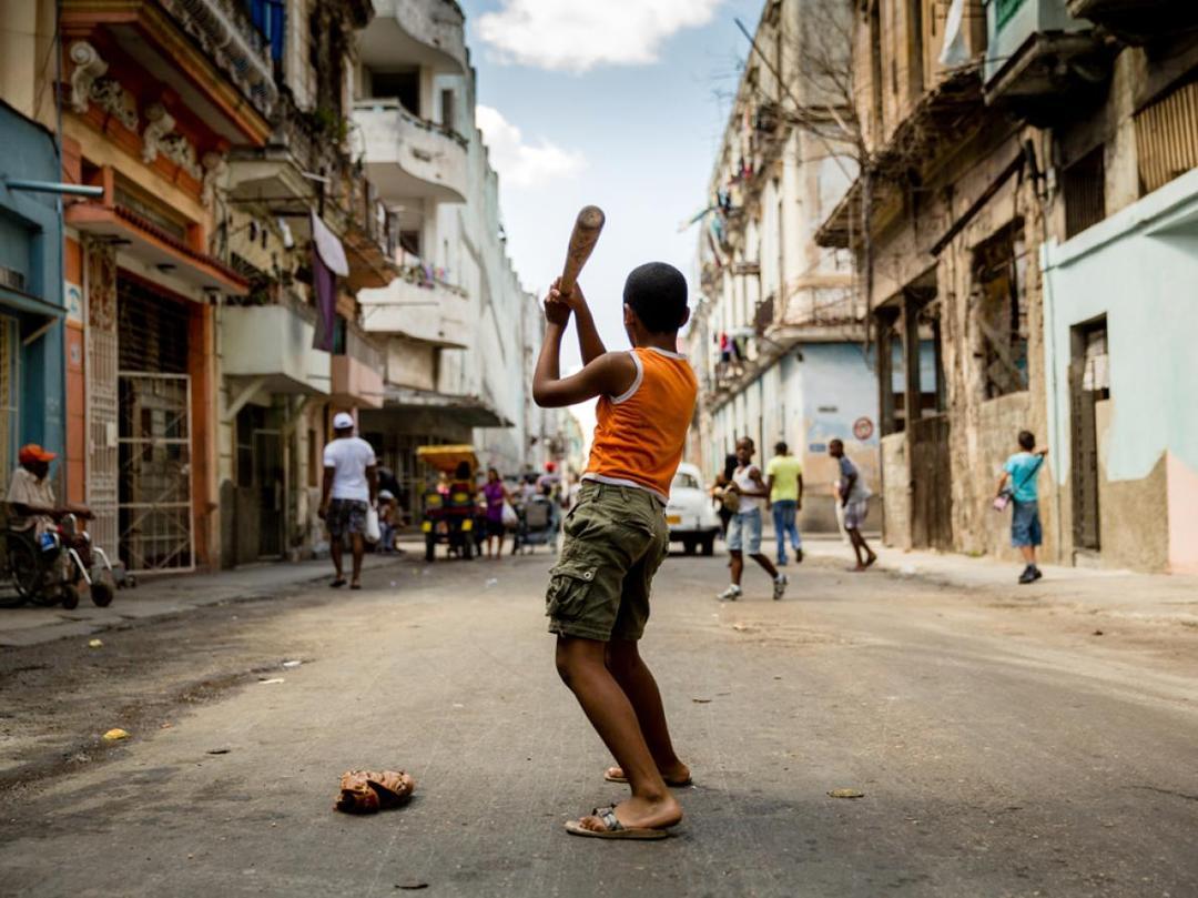 Baseball em Havana, Cuba