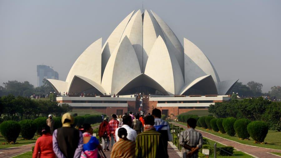 Templo de Lotus, Nova Déli, Índia