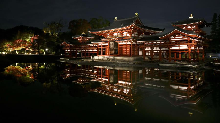 Templo de Byodoin, Uji, Japão