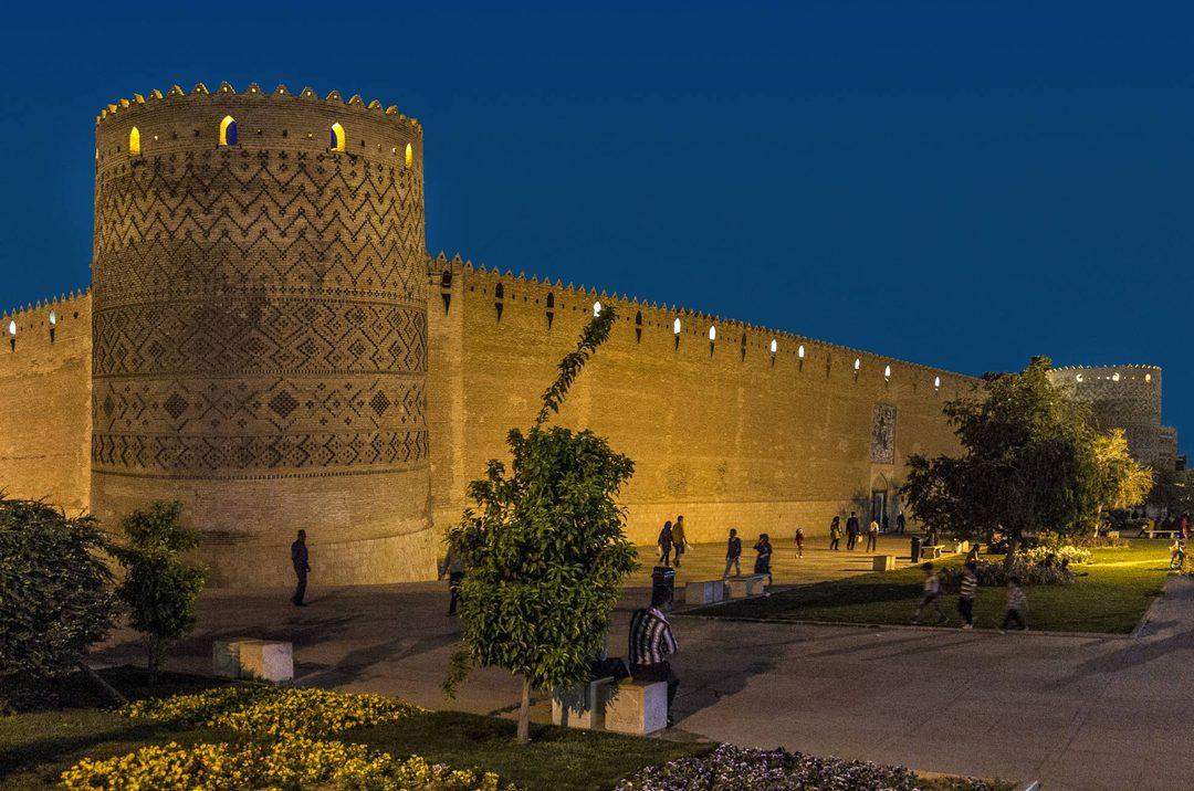 A Cidadela de Shiraz (Irã)