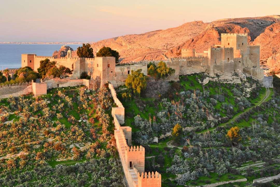 Alcazaba de Almeria (Espanha)