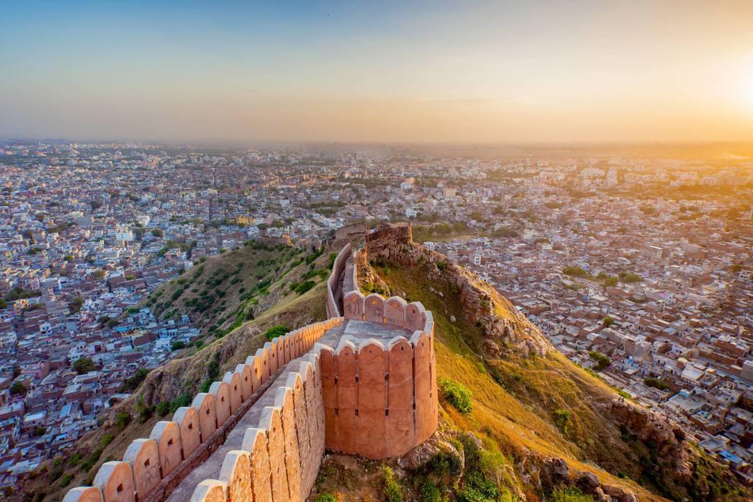 Forte Nahargarh (Jaipur, Índia)