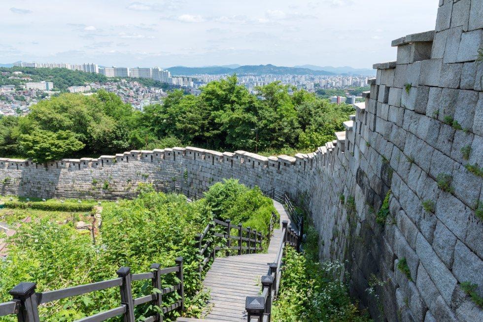 Muralha da Fortaleza de Seul (Coreia do Sul)