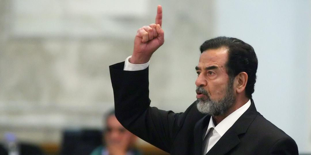 Saddam Hussein, ex-presidente do Iraque