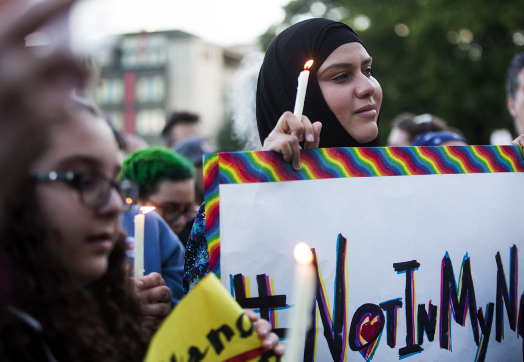 Vigília em Bagdá contra a matança de gays nos países muçulmanos