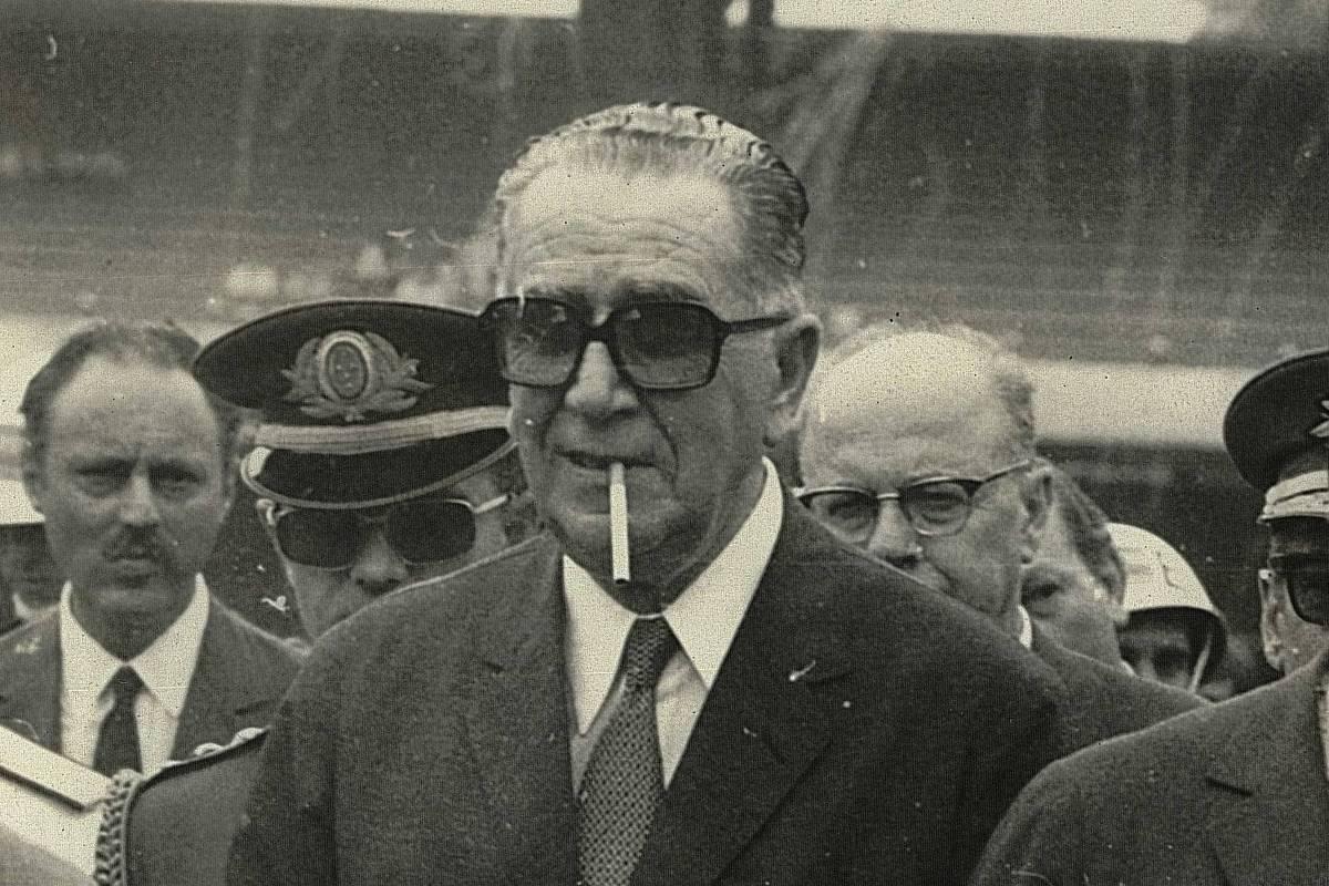 General Emilio Garrastazu Médici, carrasco em pele de torcedor de futebol apaixonado
