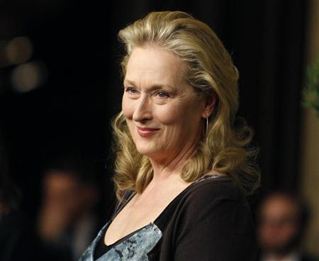 A atriz veterana Meryl Streep