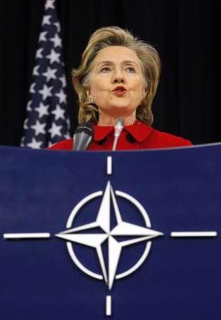 Hillary Clinton sugeriu que as eleições na Rússia não foram nem livres nem justas
