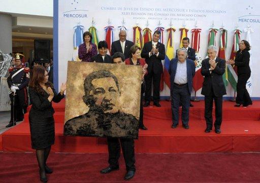 Chávez: decisão do Mercosul de incorporar a Venezuela é histórica