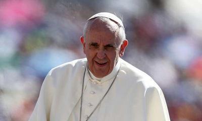Deus seja louvado por nos ter dado do céu um Francisco.