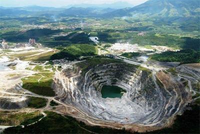 Novo mineral foi encontrado no município de Cajati (foto).