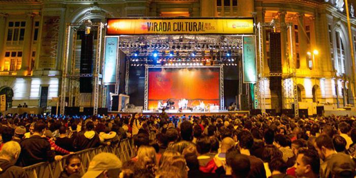 A Virada Cultural começa suas atividades oficialmente a partir da sexta-feira, 20 de maio.
