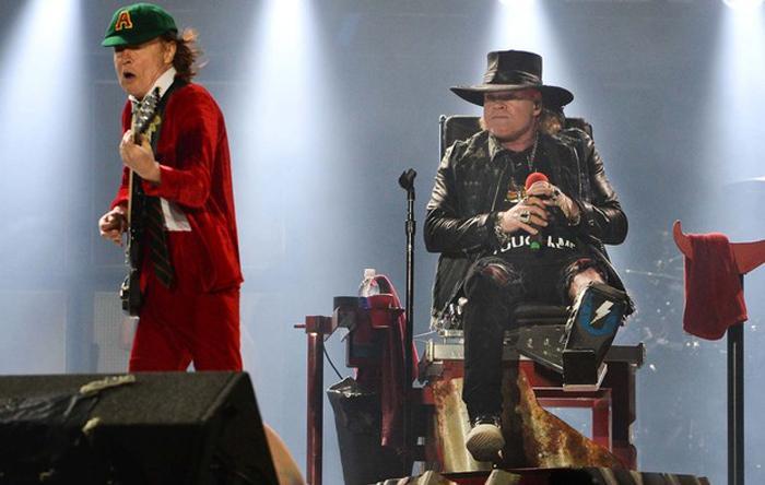 AC/DC com Axl Rose é uma das opções da enquete do Rock in Rio.