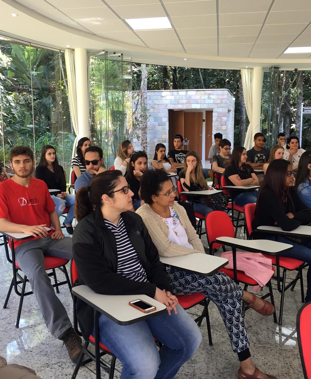Atividade foi realizada no novo campus da Dom Helder Escola de Direito.
