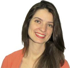 Professora Aline Almeida.