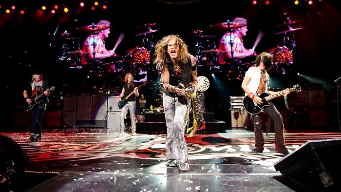 O show no Rock in Rio será a sétima passagem do Aerosmith pelo Brasil.
